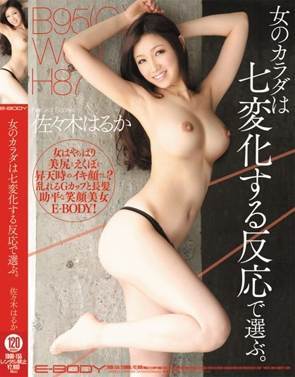 Haruka Sasaki - Choose a Woman's Body from Seven Varying Reactio
