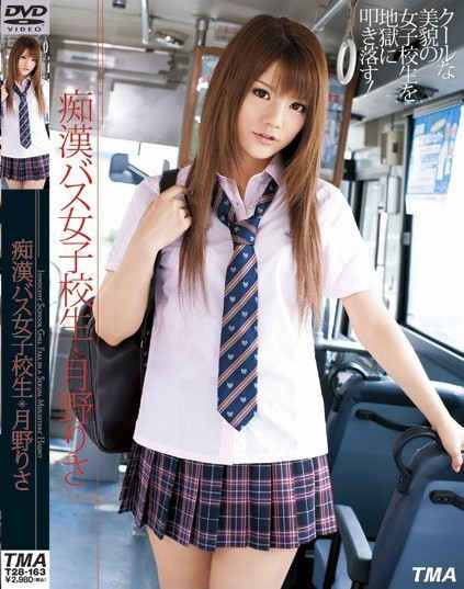 Risa Tsukino - High School Girl Molester Bus